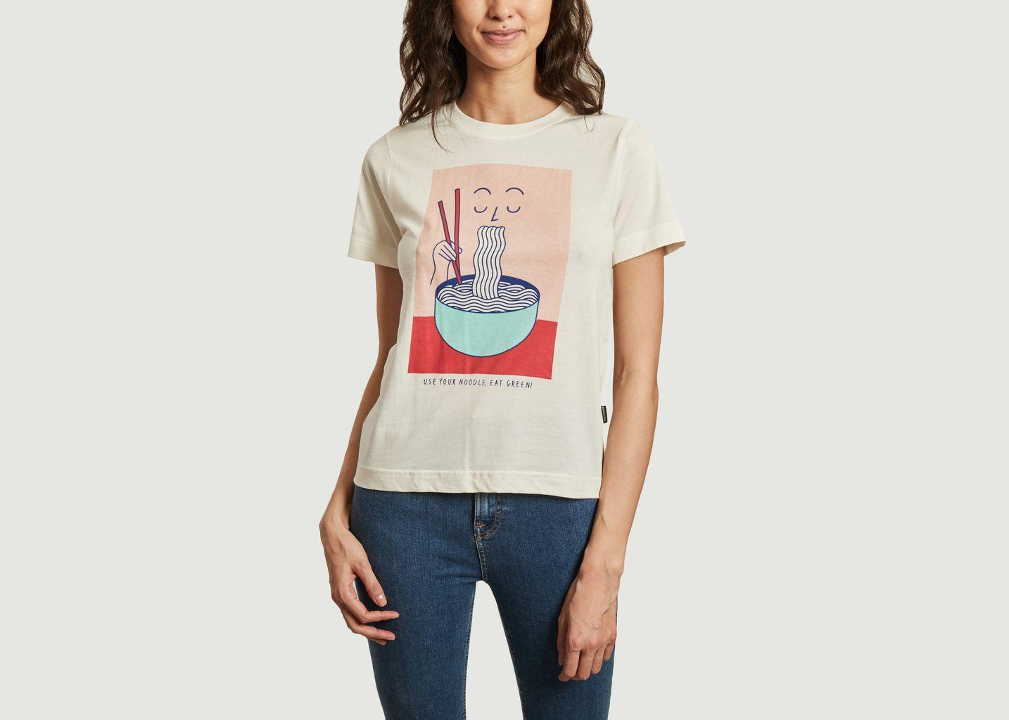T-shirt imprimé en coton bio Mysen Noodle - Dedicated Brand