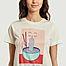 matière T-shirt imprimé en coton bio Mysen Noodle - Dedicated Brand