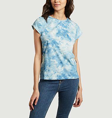T-shirt en coton bio tie and dye Visby