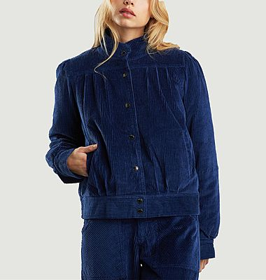 Ljungby lined quilted corduroy jacket