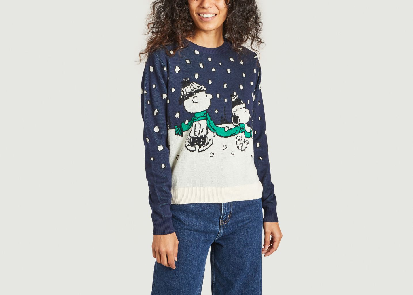 Pull Double Scarf Peanuts Dedicated Brand x Snoopy - Dedicated Brand