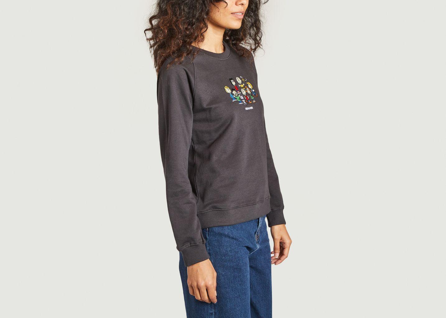 Sweatshirt Ystad Peanuts Friends Dedicated Brand x Snoopy - Dedicated Brand
