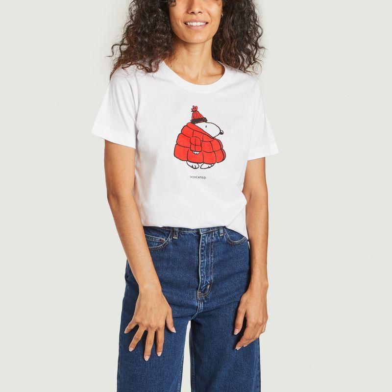 T-shirt Mysen Snoopy Puffer Dedicated Brand x Snoopy - Dedicated Brand