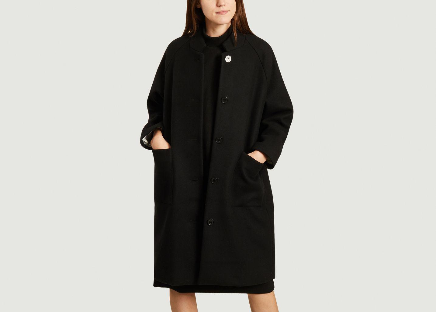 Manteau long dos brodé - Dévastée