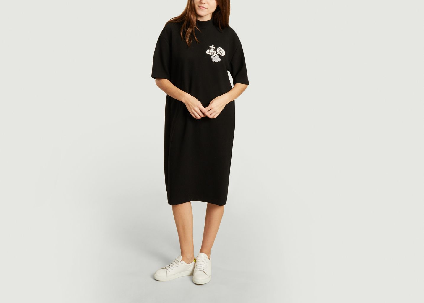 Robe Patchwork Jersey - Dévastée