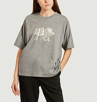 T-shirt siglé oversize