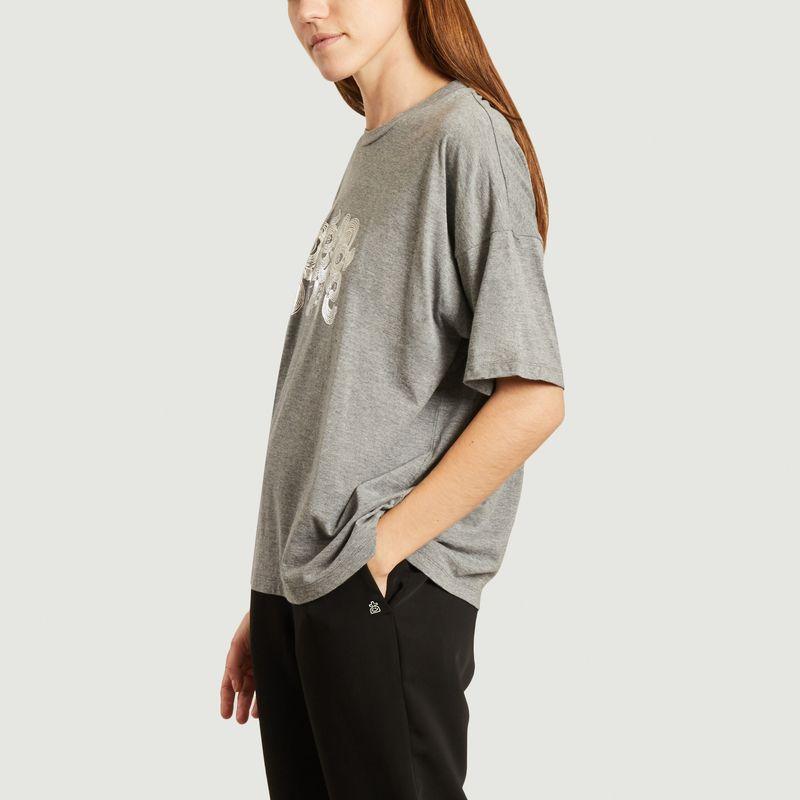 T-shirt siglé oversize - Dévastée