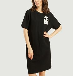 Printed T-shirt Dress