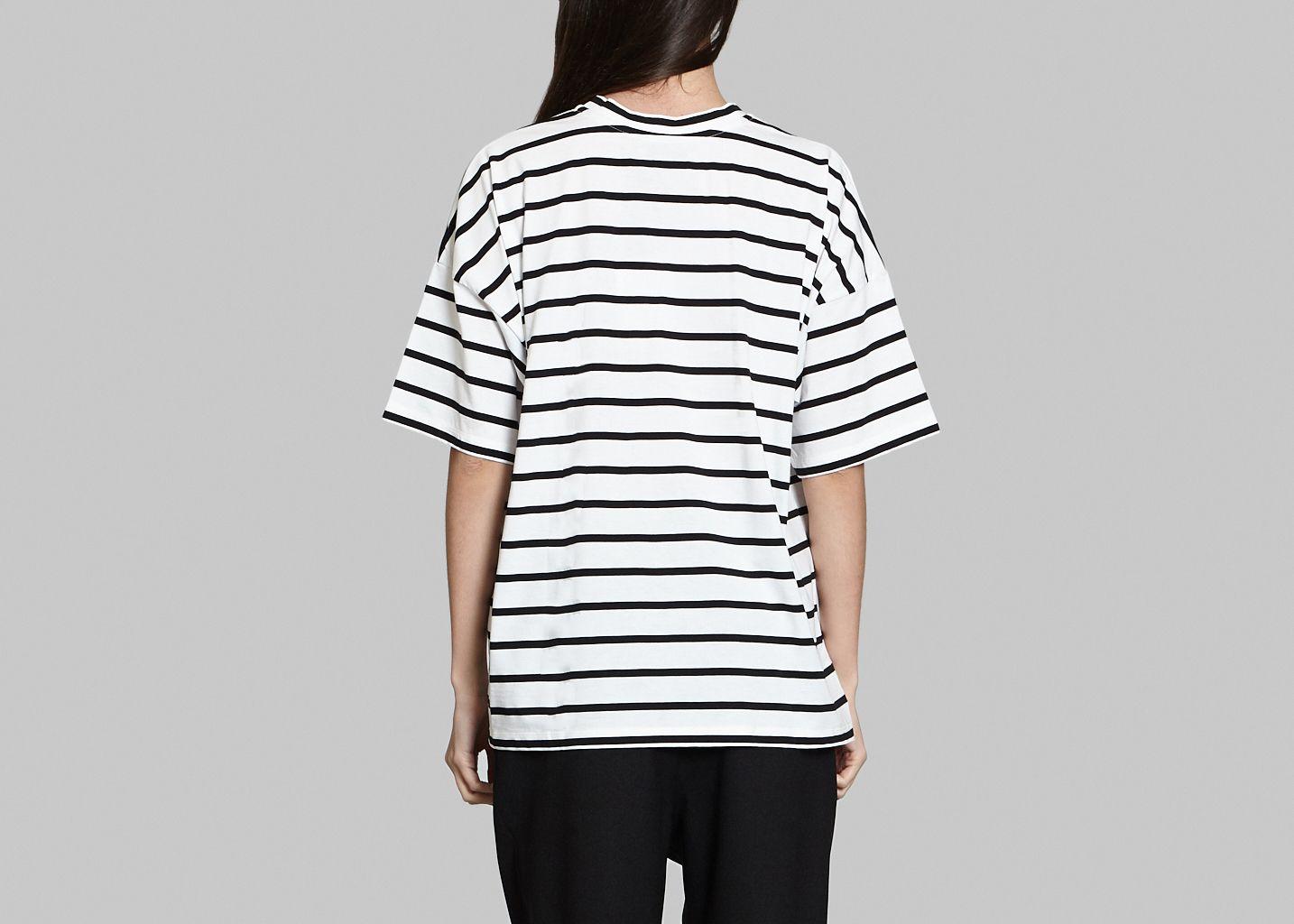 Tshirt Marin Imprimé - Dévastée