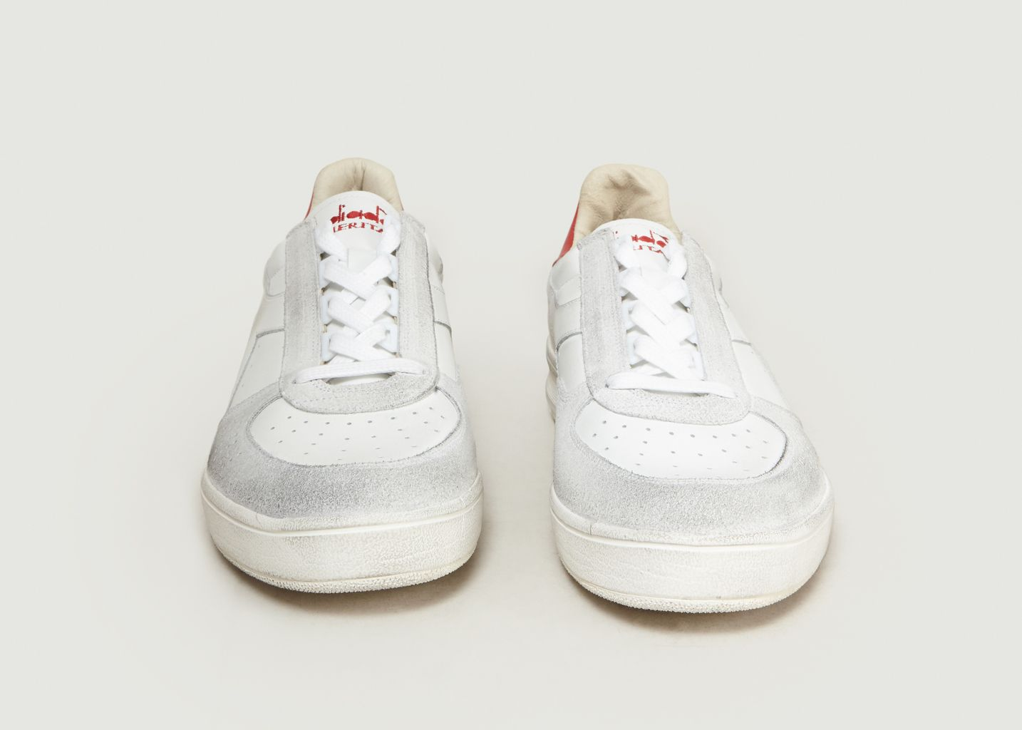 cdc1a06e70 B.Elite H Leather Dirty Trainers