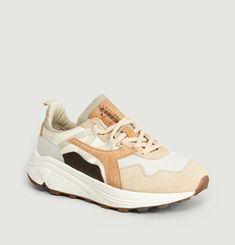 Sneakers En Cuir Suédé Rave