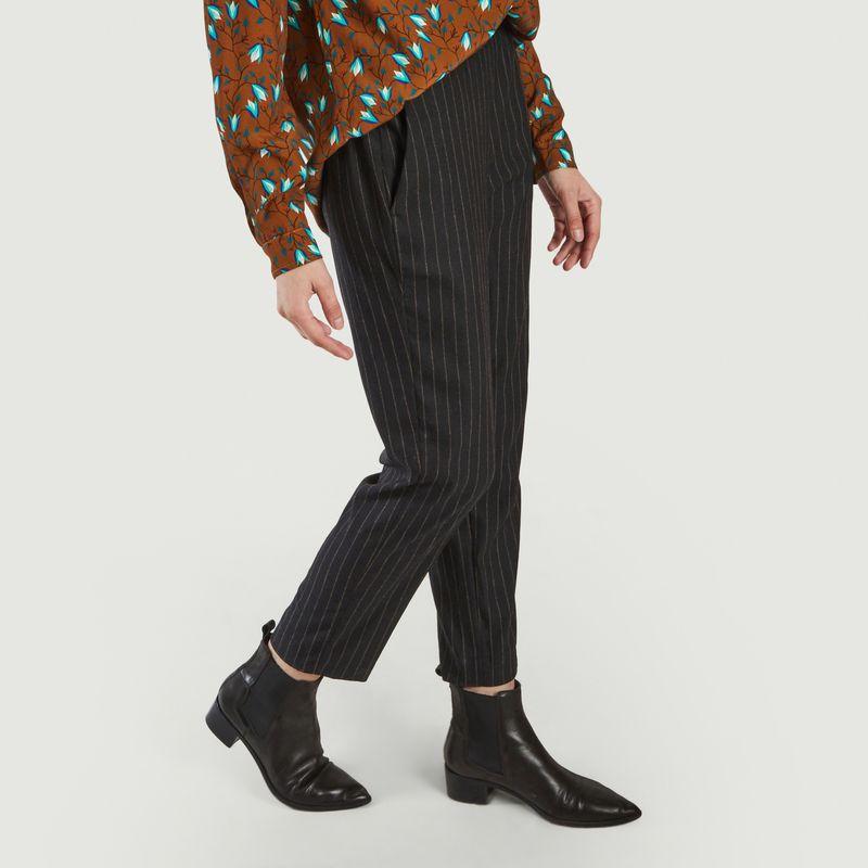 Pantalon droit rayé Pacifio - Diega