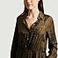 matière Robe-chemise imprimée Ricarda - Diega