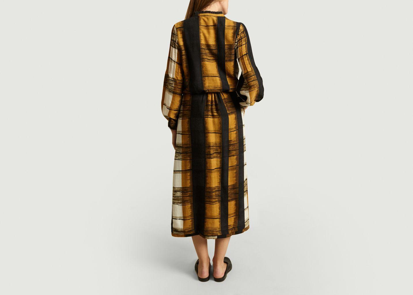 Robe Boutonnée Laine - Diega