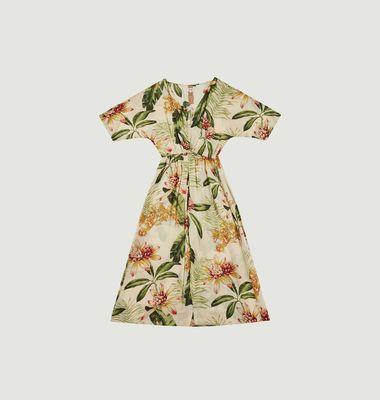 Robe imprimé fleuri Rosata