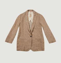 Vento linen suit jacket