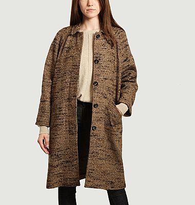 Manteau Mitaro motif à chevrons