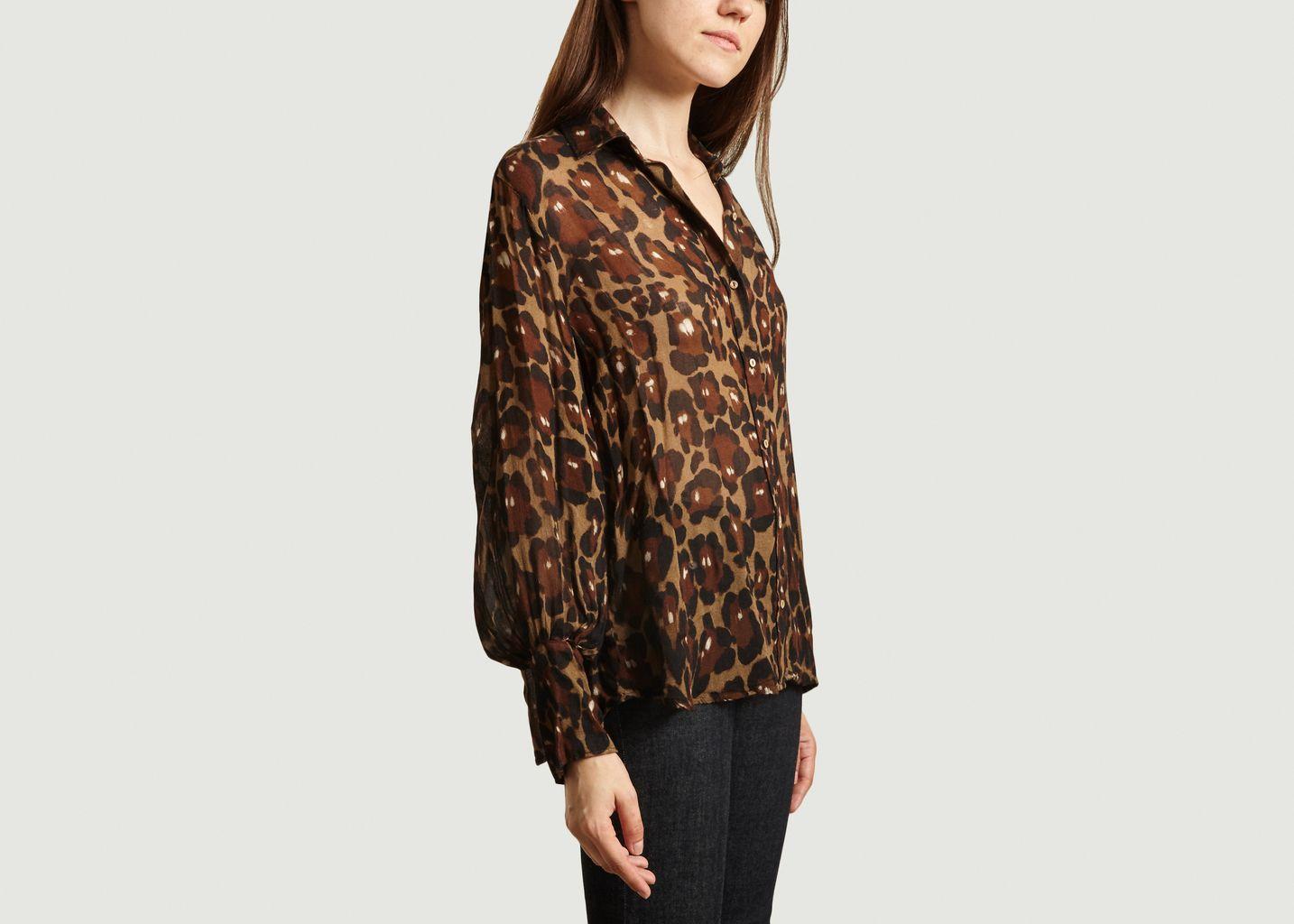 Chemise imprimé léopard Calta - Diega