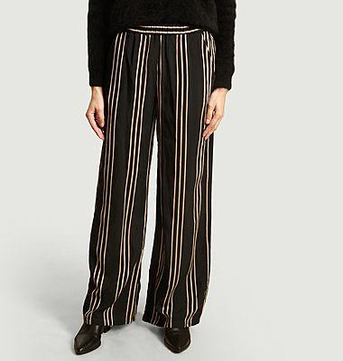 Pantalon large rayé Portorico