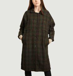 Manteau long léger en laine vierge Vitto