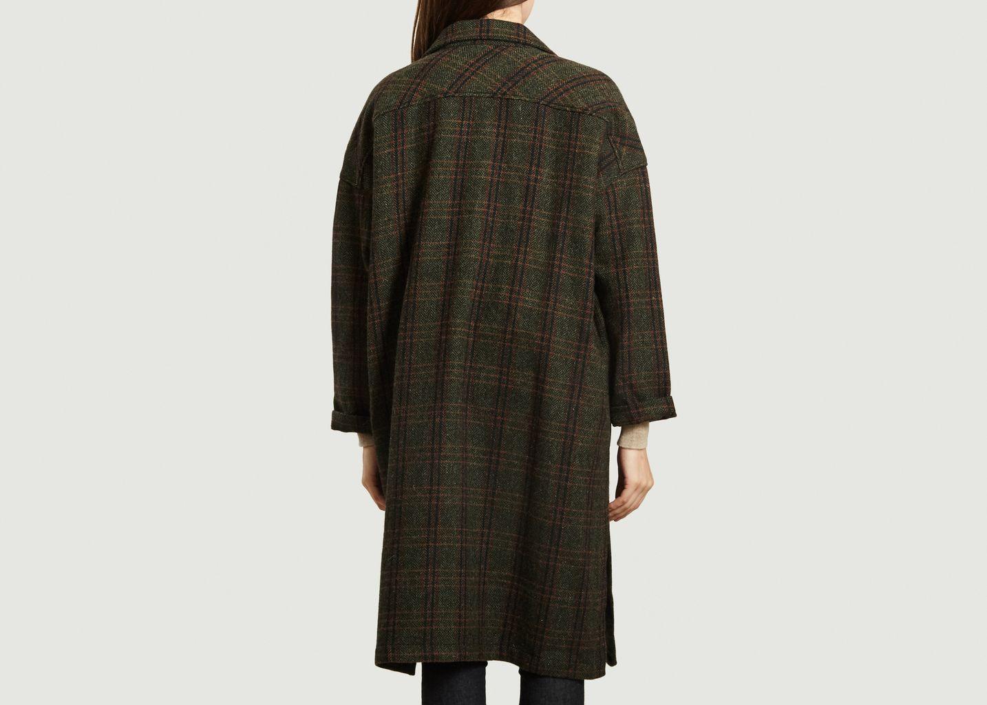 Manteau long léger en laine vierge Vitto - Diega