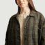 matière Manteau long léger en laine vierge Vitto - Diega