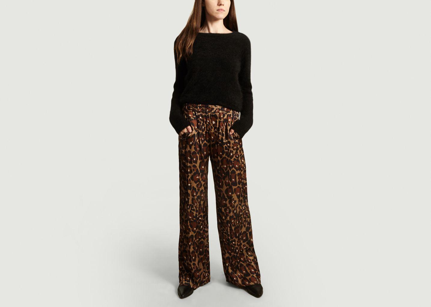 Pantalon Portorico imprimé léopard - Diega