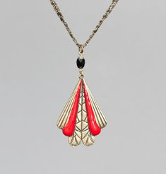 Lila Long Necklace