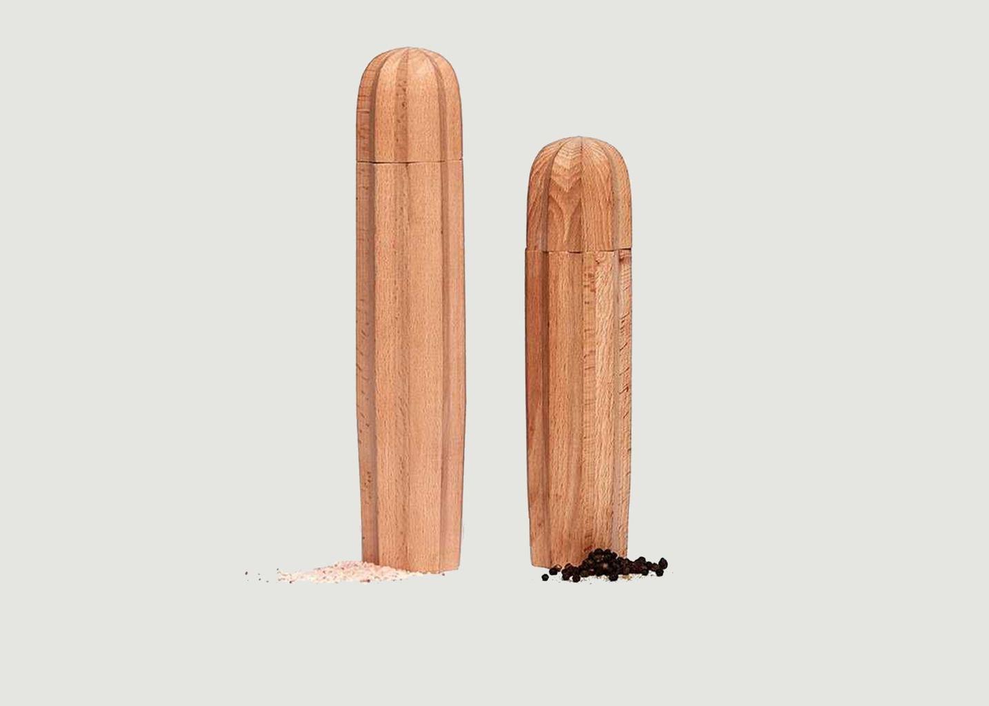 Moulins à sel et poivre en bois Cacti - Doiy
