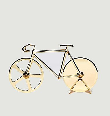 Coupe-pizza Fixie Gold