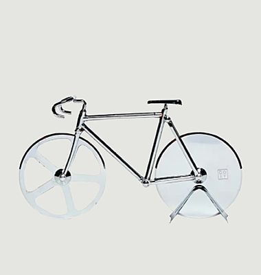Coupe-pizza Fixie Silver