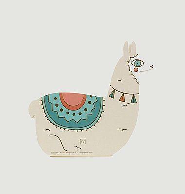 Carnet de notes oversize lama