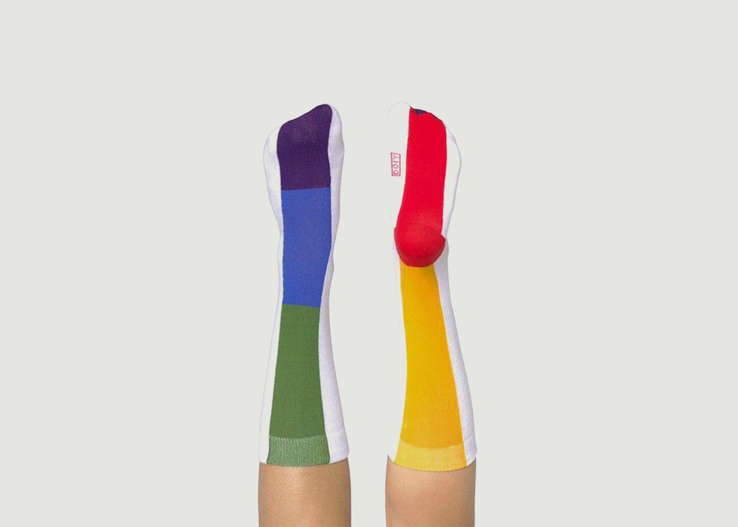 Chaussettes multicolores Rainbow - Doiy