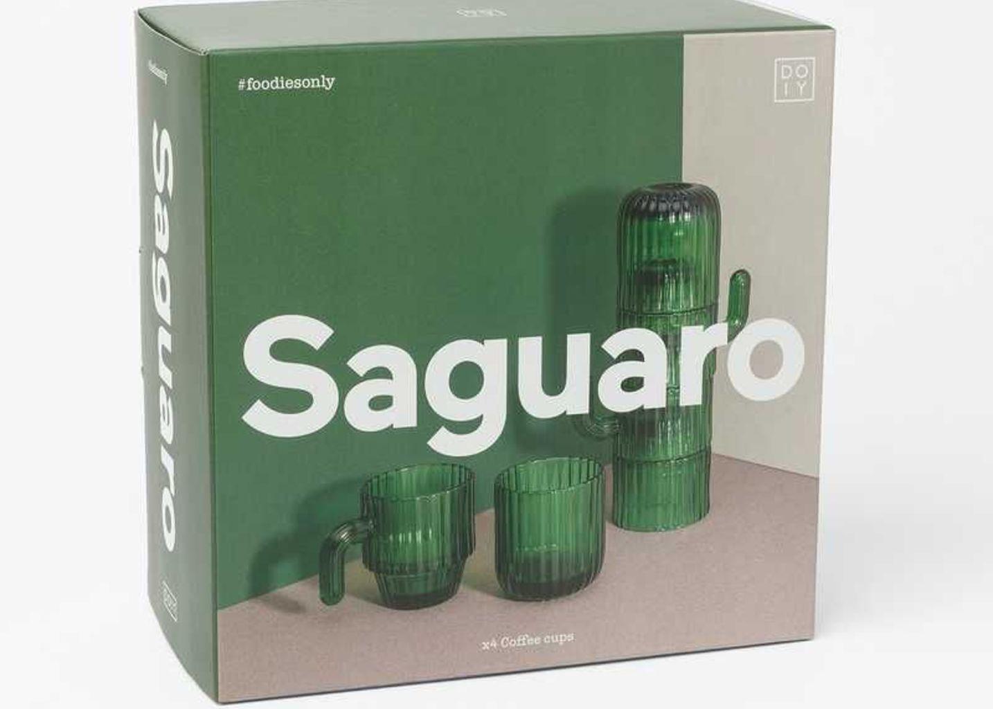 Tasses à café cactus empilables Saguaro - Doiy