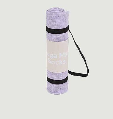 Socks Yoga mat, purple