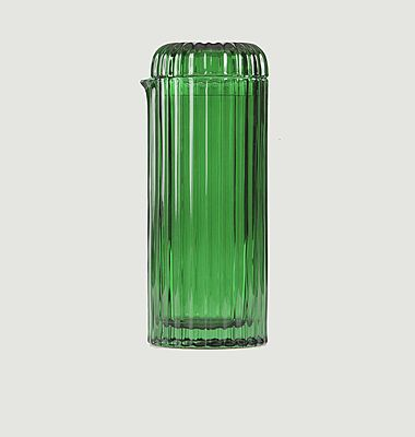Carafe cactus en verre Saguaro
