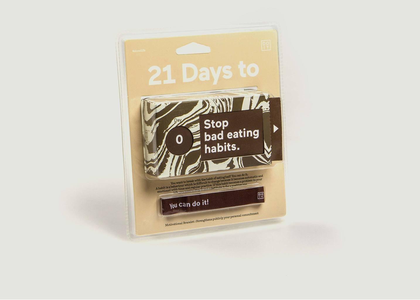 21 Jours Pour Arrêter Les Mauvaises Habitudes Alimentaires - Doiy