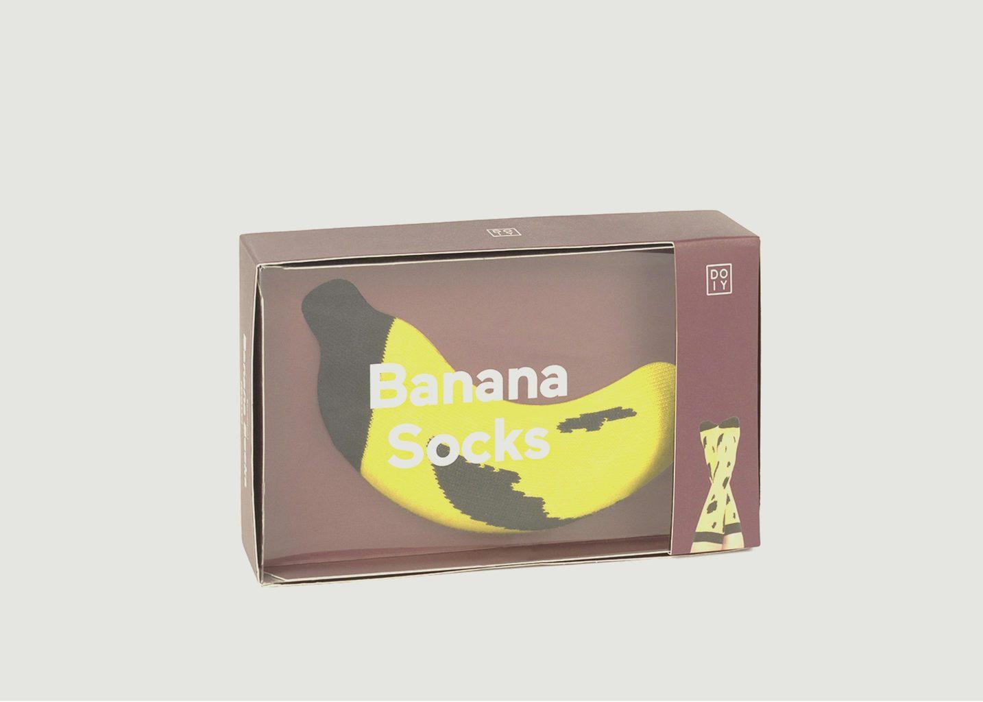 Chaussettes Bicolores Banane - Doiy