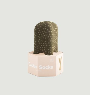 Chaussettes à motif Cactus Mammillaria
