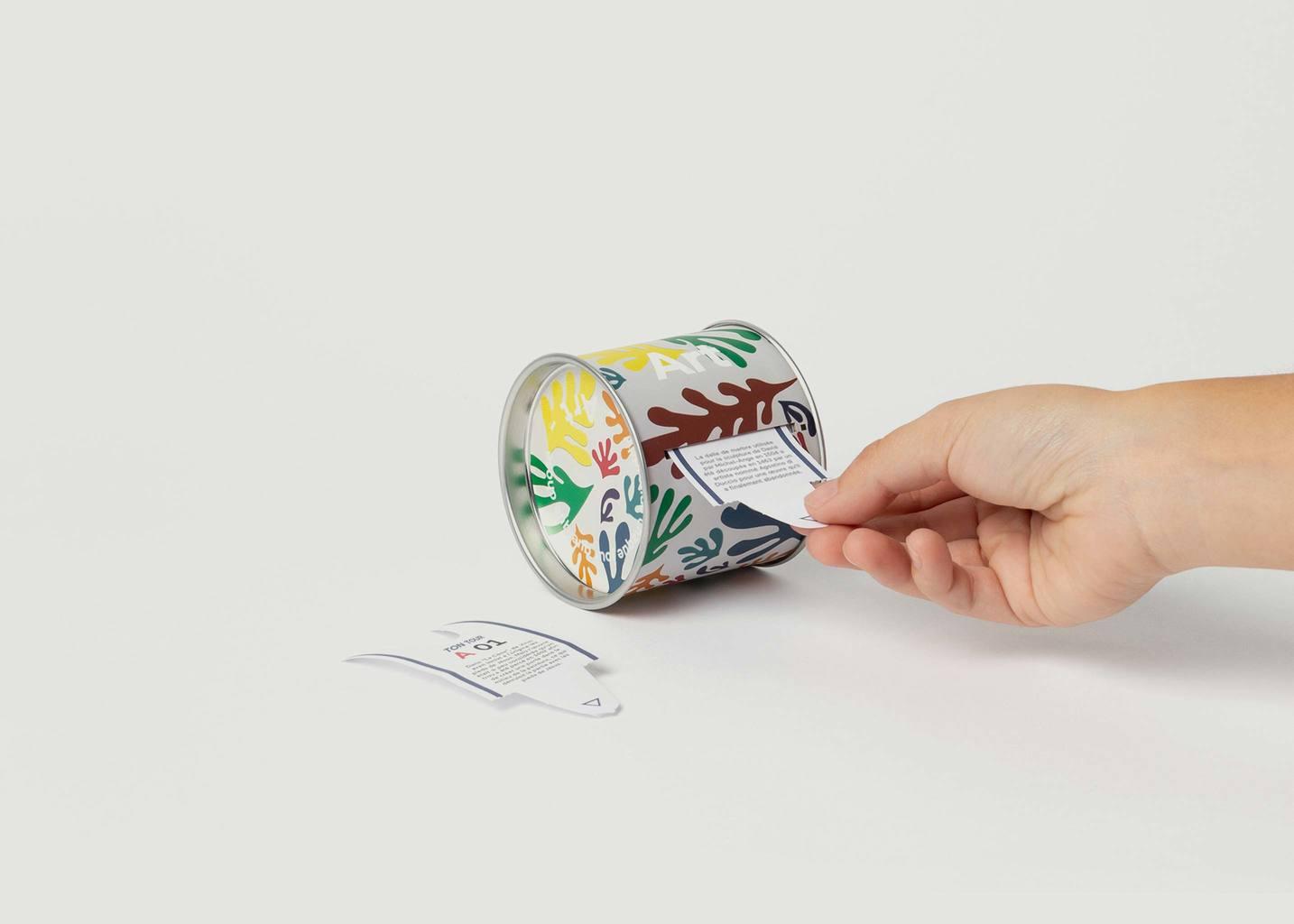 Ticket Box Apprendre Chaque Jour Sur l'Art  - Doiy
