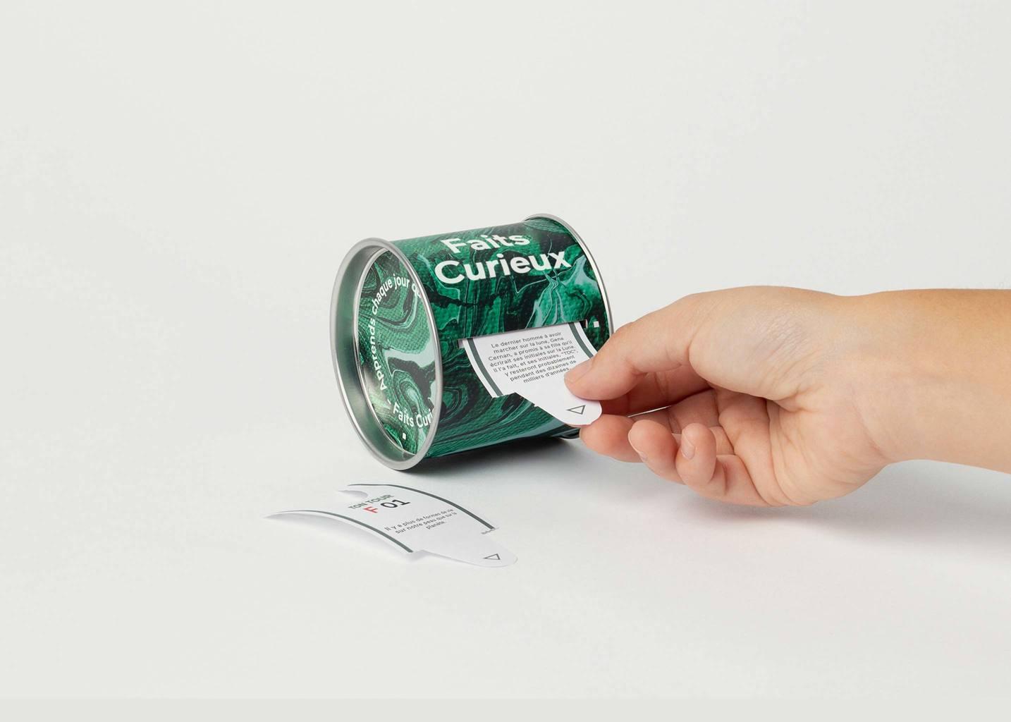 Ticket Box Apprendre Chaque Jour Sur Des Faits Curieux - Doiy