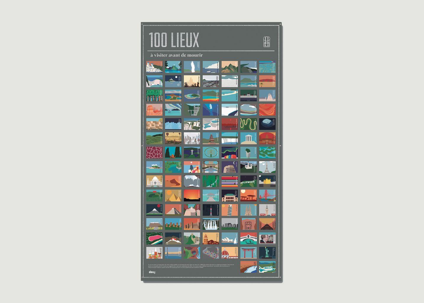 100 Lieux à Visiter - Doiy