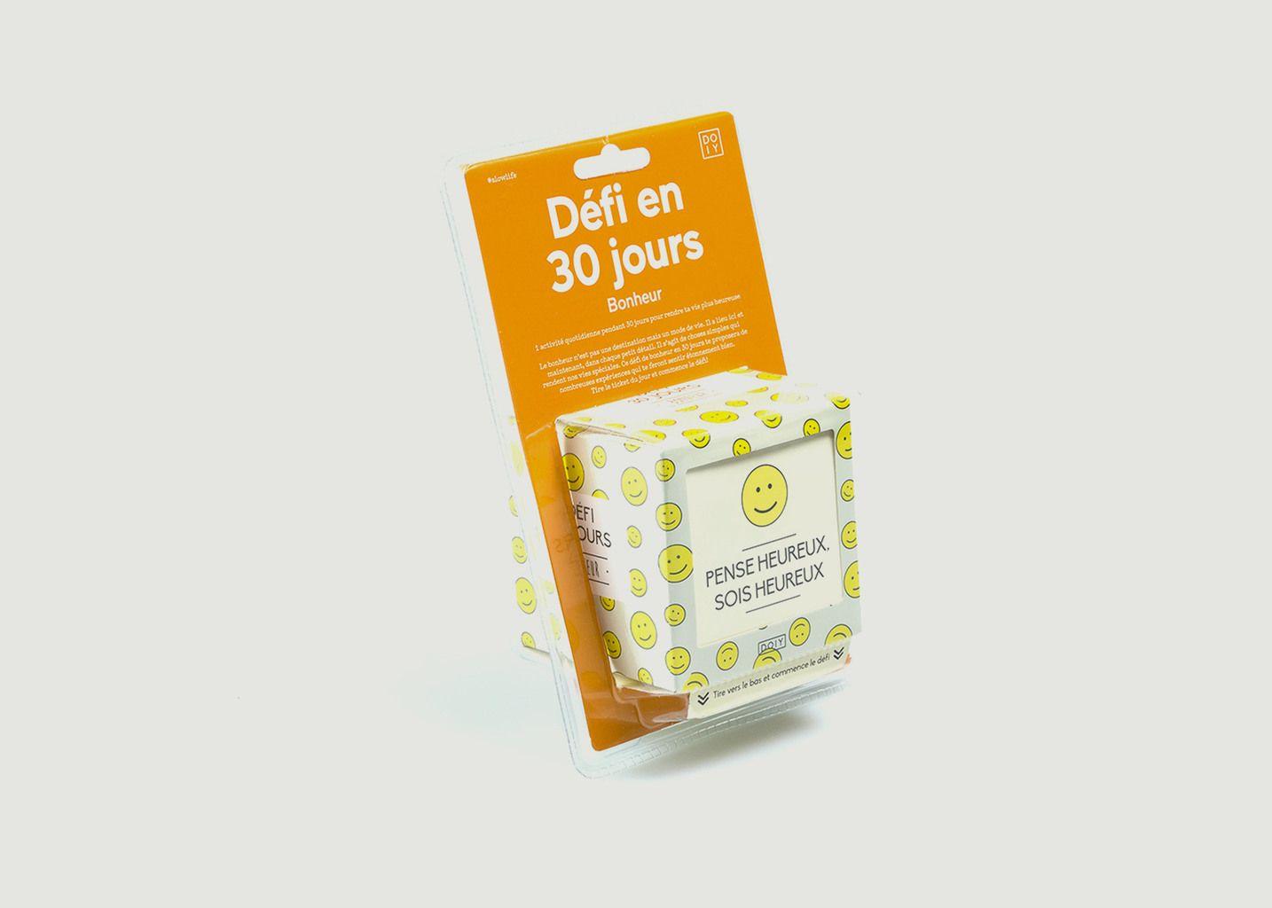Défi Bonheur 30 Jours - Doiy