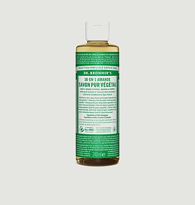 Organic liquid soap almond