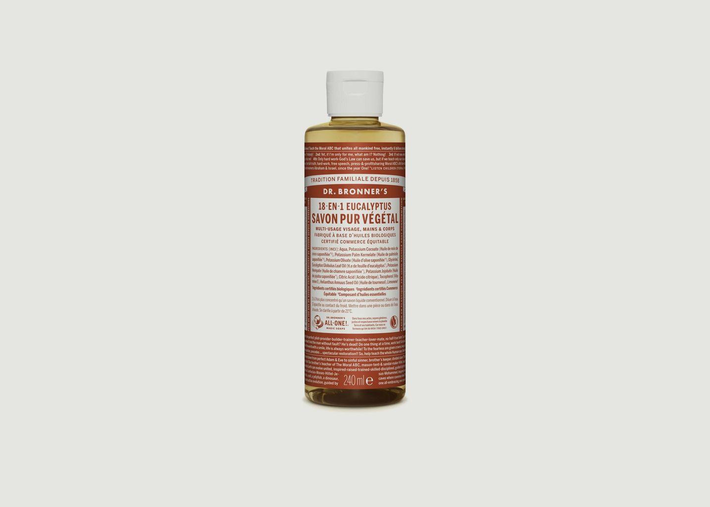 Savon liquide bio eucalyptus - Dr Bronners