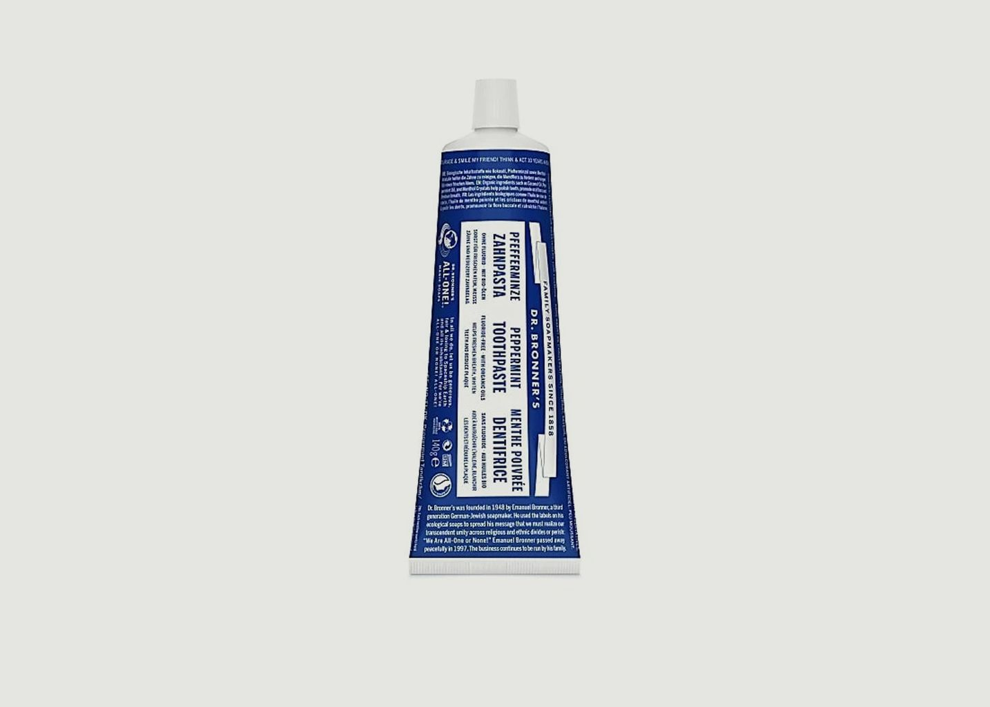 Dentifrice Menthe  - Dr Bronners