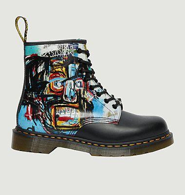 Bottes 1460 Basquiat en cuir