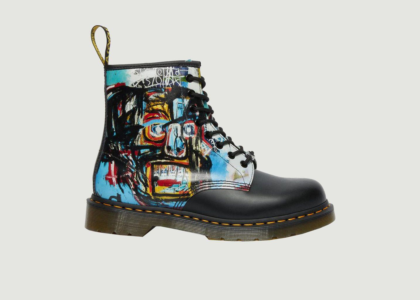 Bottes 1460 Basquiat en cuir  - Dr. Martens