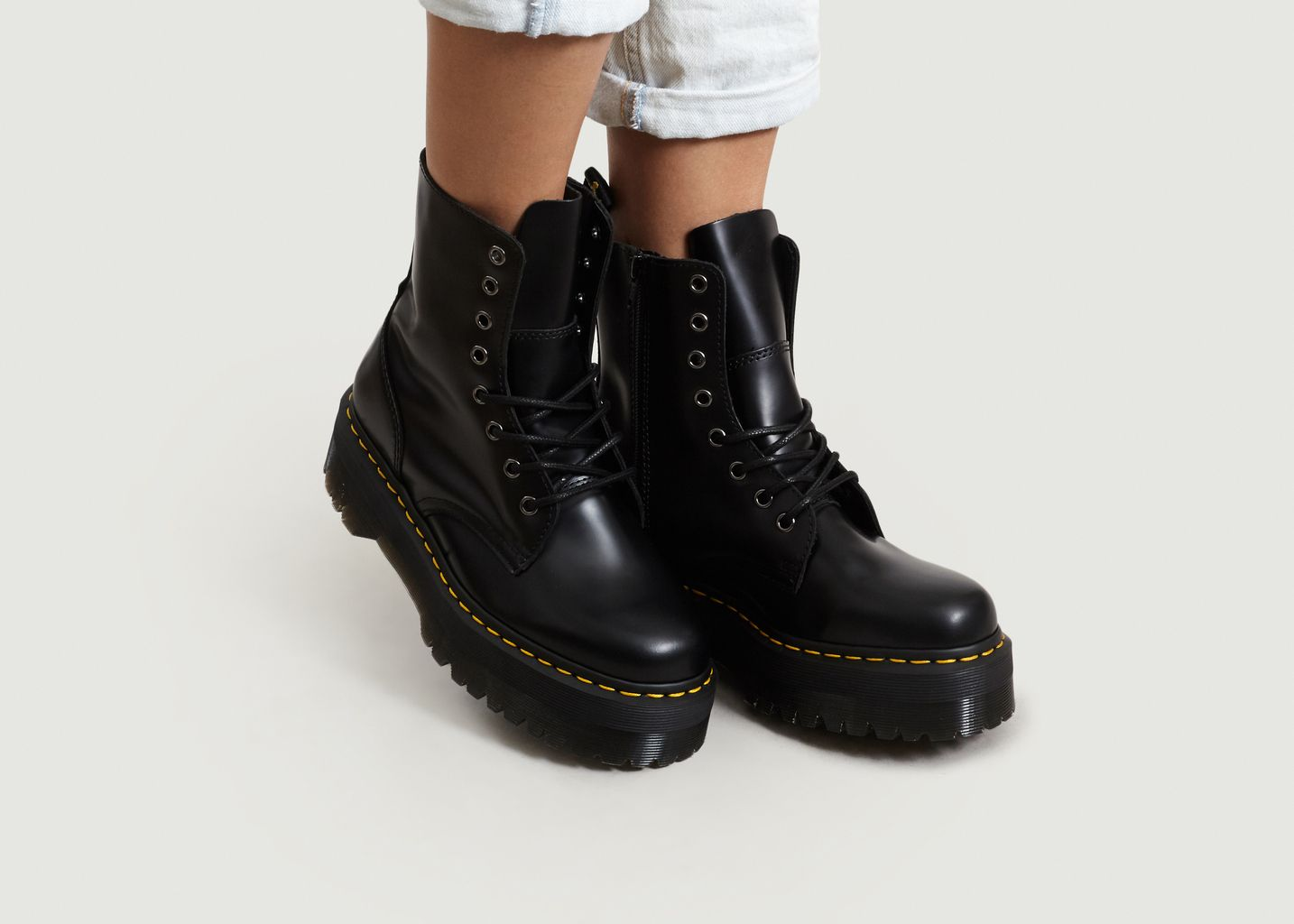 Boots Plateformes Jagger | Dr. Martens
