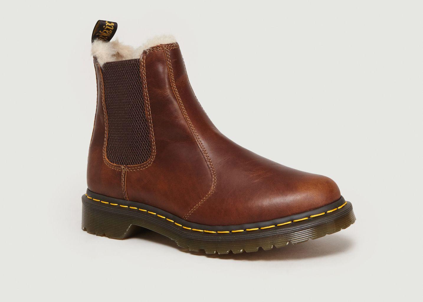 chelsea boots doc martens fourrées